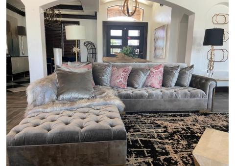 GREY SECTIONALS (Priced separately)