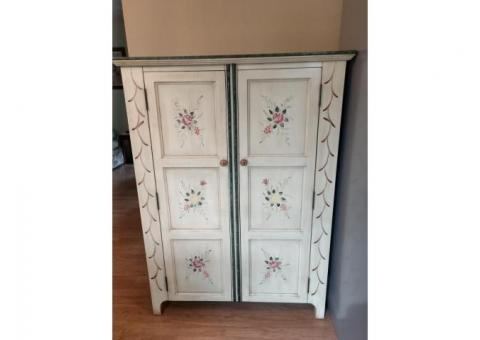 Wooden Pantry Cabinet